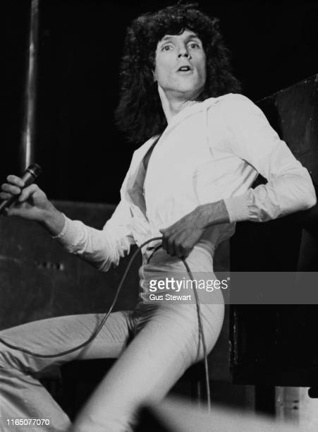 American singer, songwriter and record producer Russell Mael of American rock band Sparks, UK, 1974.