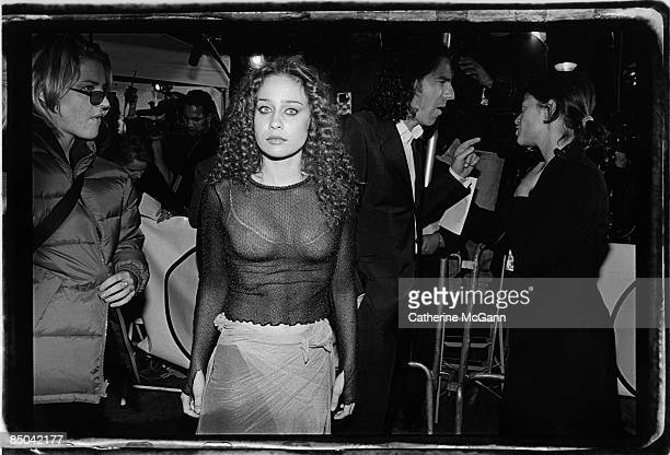 American singer songwriter Fiona Apple poses for a photo outside the VH1 Fashion Awards in October 1997 in New York City New York