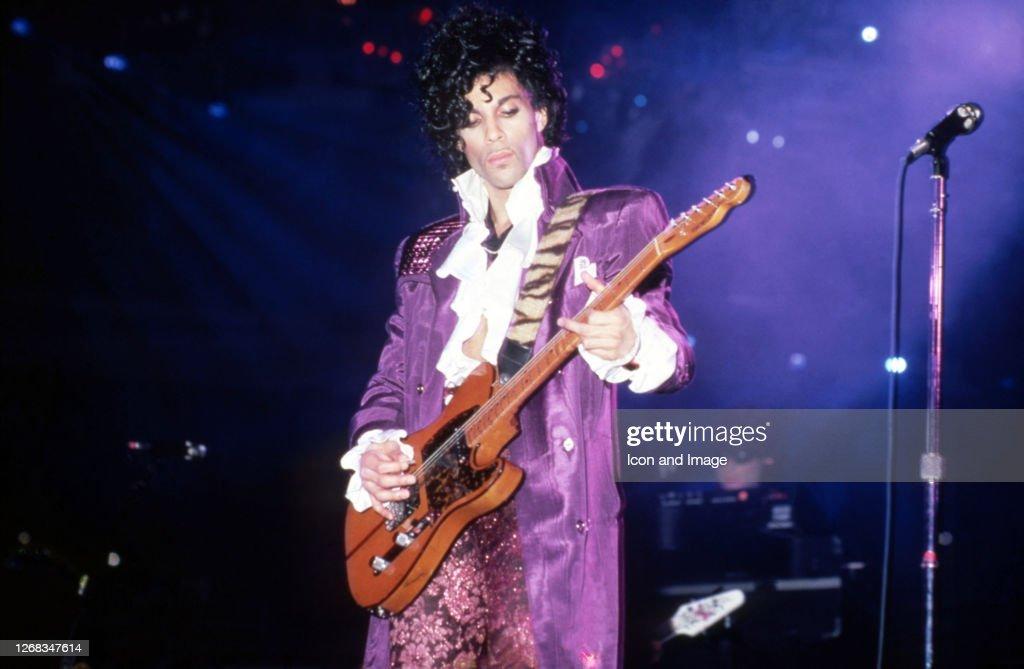 Prince Purple Rain In Detroit : News Photo