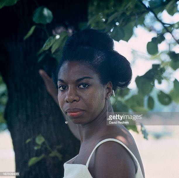 American singersongwriter musician and civil rights activist Nina Simone Hyde Park London 1968