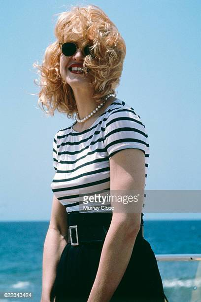 American singer songwriter producer and actress Madonna
