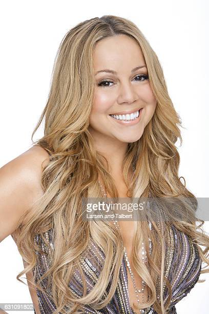 American singer songwriter record producer and actress Mariah Carey is photographed for People Magazine on December 6 2005 in Los Angeles California
