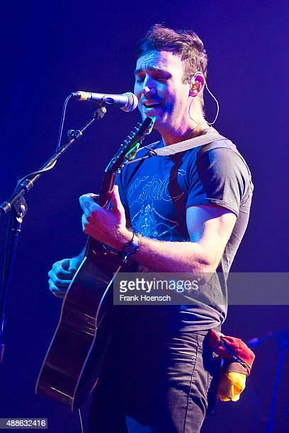 American singer Sufjan Stevens performs live during a concert at the Admiralspalast on September 16 2015 in Berlin Germany