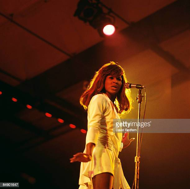 FESTIVAL Photo of Tina TURNER and Ike Tina TURNER Tina Turner performing on stage