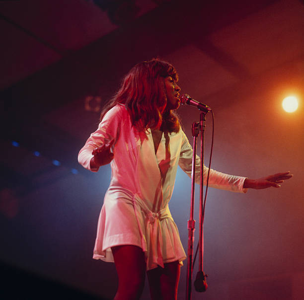 Tina Turner Perfoms On Stage Wall Art