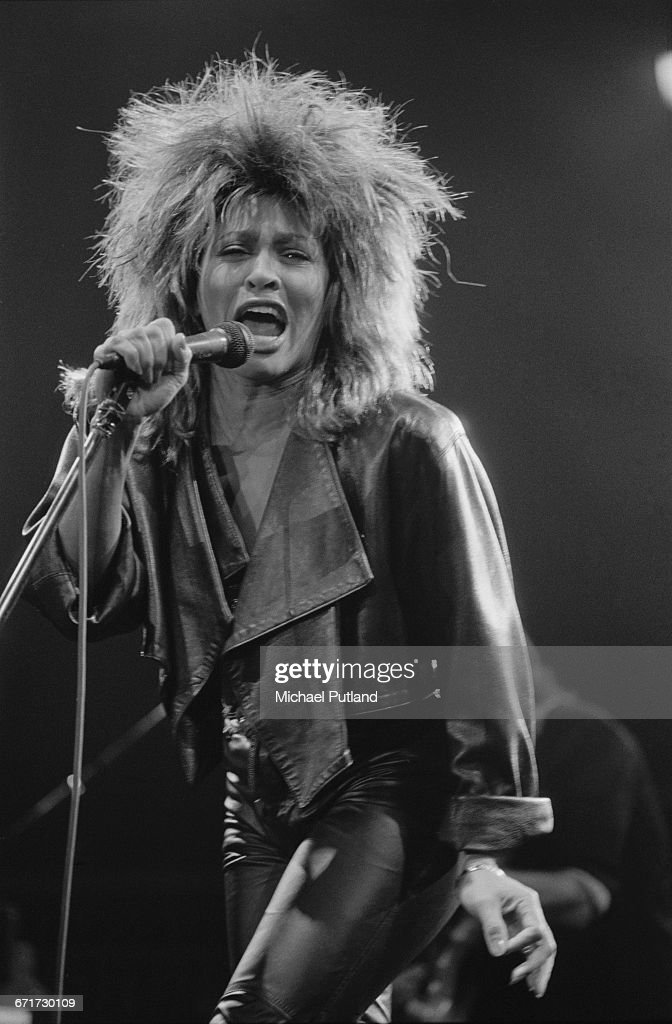 American singer Tina Turner performing during her Private Dancer Tour, on one of four nights at Wembley Arena, London, 14th-17th March 1985.
