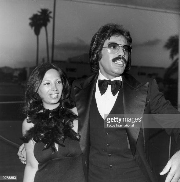 american singer tony orlando and his wife elaine arrive at
