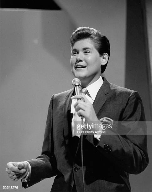 American singer Wayne Newton performs as the musical guest on 'The Ed Sullivan Show' New York New York February 13 1966