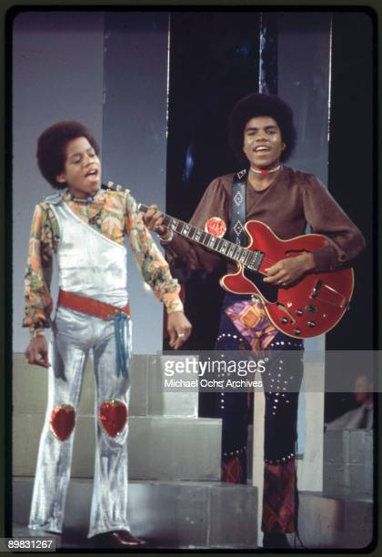 American singers Tito and Marlon Jackson circa 1970