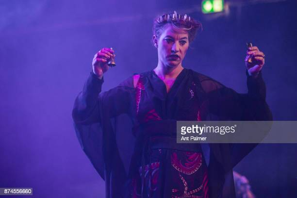 American Singersongwriter Amanda Palmer performs live on stage at the Traumzeit Festival on June 17 2017 in Duisburg Germany