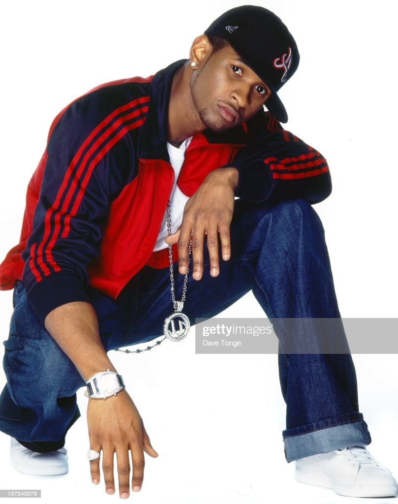 American singer-songwriter and actor Usher, circa 2000.