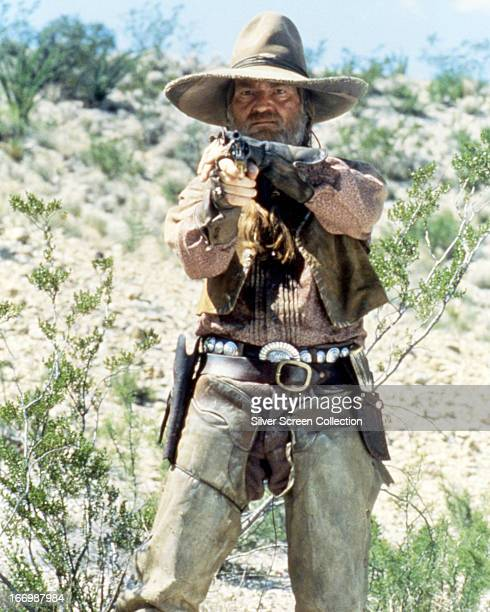 American singersongwriter and actor Willie Nelson in the title role of 'Barbarosa' directed by Fred Schepisi 1982