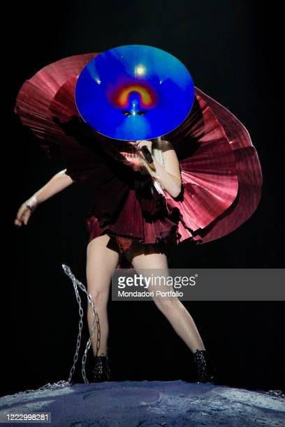 American singersongwriter and actress Lady Gaga performs at the MTV Europe Music Awards 2011 Belfast November 6th 2011