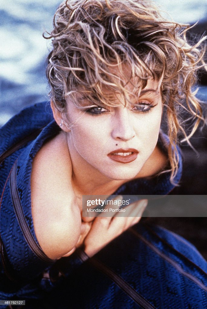 Madonna on the set of the film Desperately Seeking Susan : Foto jornalística