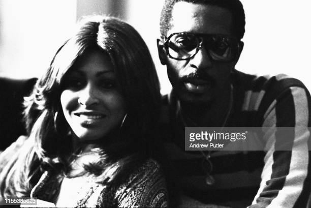 American singersongwriter and actress Tina Turner with her husband American musician songwriter and producer Ike Turner London UK October 1975