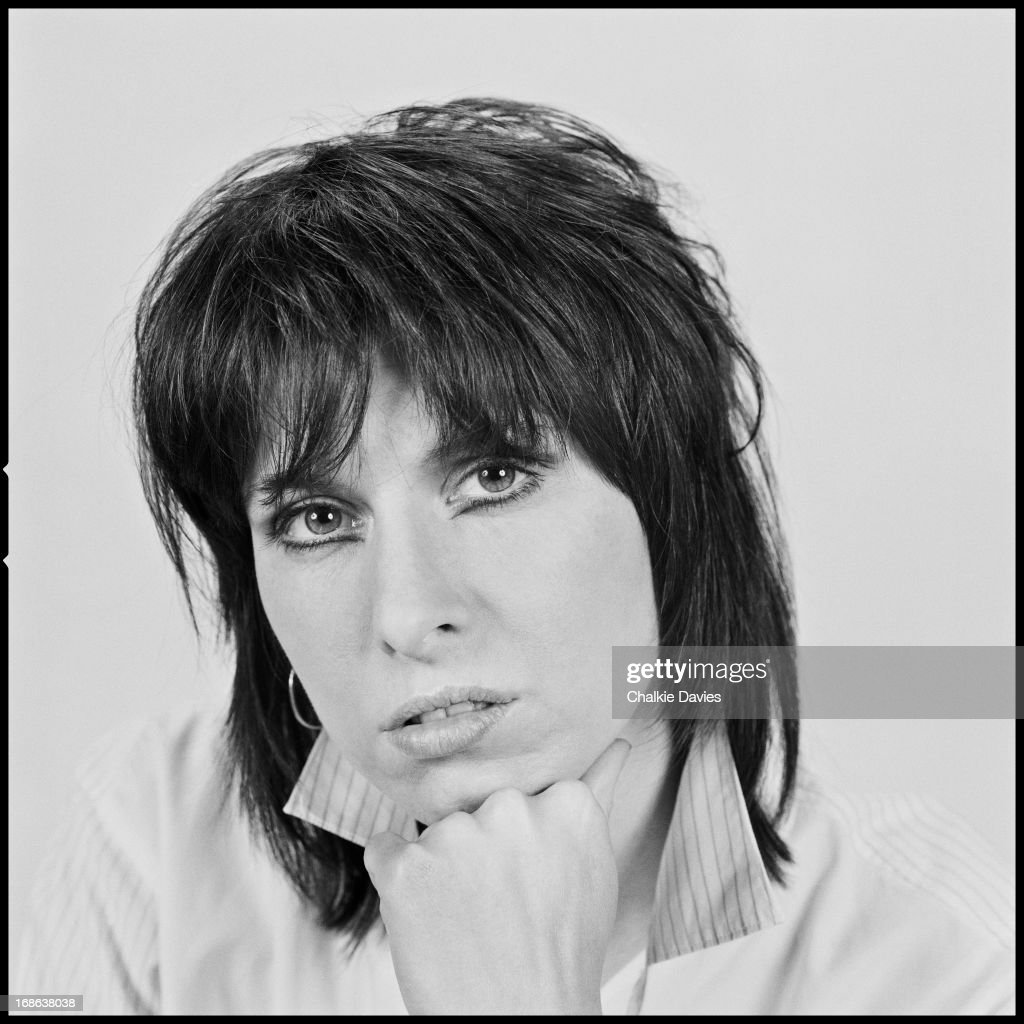 American singer-songwriter and guitarist Chrissie Hynde, of English-American rock group The Pretenders, photographed in London, 1983.