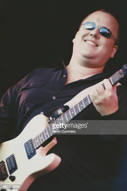 American singersongwriter and guitarist Frank Black formerly of The Pixies performing at the Reading Festival 28th August 1994