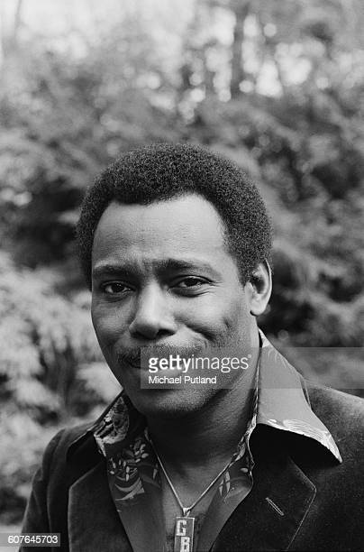 American singersongwriter and guitarist George Benson at his home USA 5th September 1977