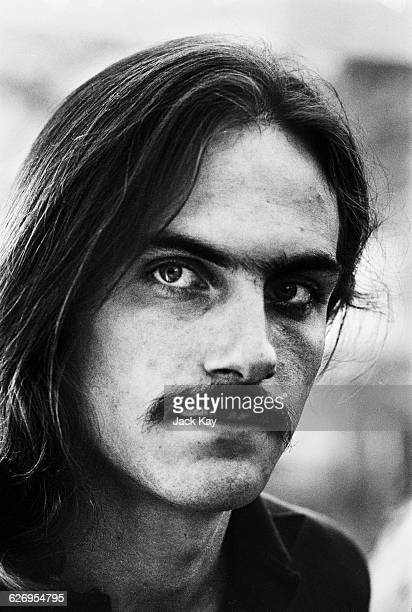 American singersongwriter and guitarist James Taylor 8th July 1971 He is in London to perform at the Royal Festival Hall with Carole King