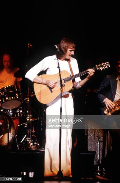 American singersongwriter and guitarist James Taylor performs at Olympia Stadium on October 15 in Detroit MI