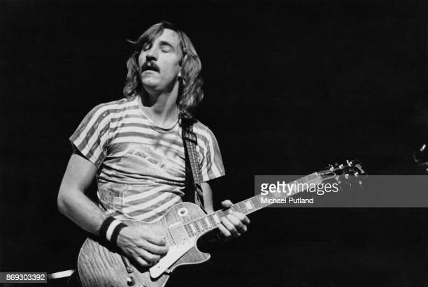 American singersongwriter and guitarist Joe Walsh of rock band Eagles performs live on stage New York October 1979