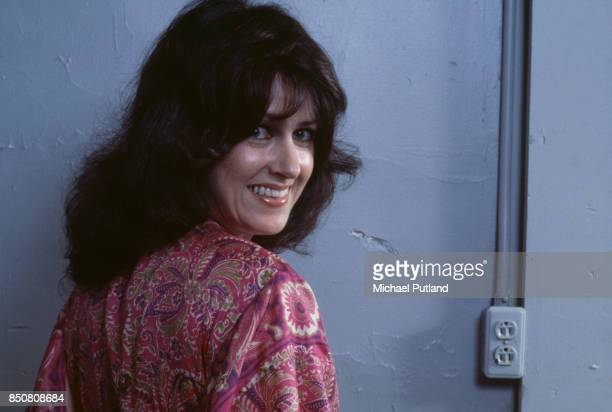 American singersongwriter and musician Grace Slick of rock group Jefferson Starship September 1978