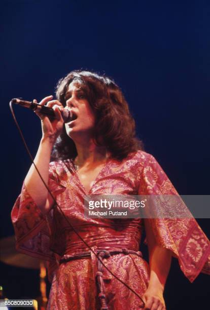 American singersongwriter and musician Grace Slick of rock group Jefferson Starship New York USA September 1978