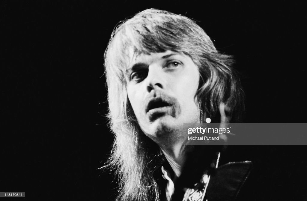 American singer-songwriter and musician Leon Russell performing at the Rainbow Theatre, London, 3rd November 1971.