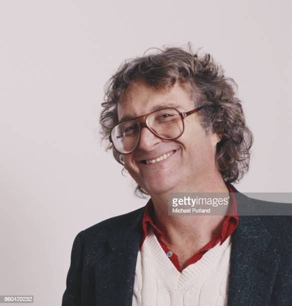 American singersongwriter and musician Randy Newman London UK 1988