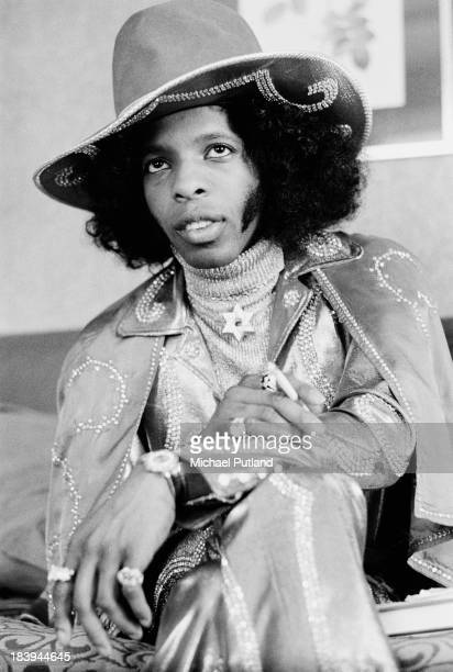 American singersongwriter and musician Sly Stone of Sly and the Family Stone London 16th July 1973