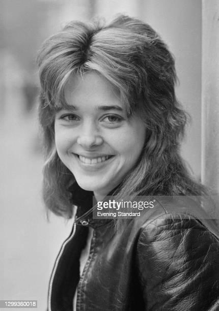 American singer-songwriter and musician Suzi Quatro, UK, 6th November 1972.