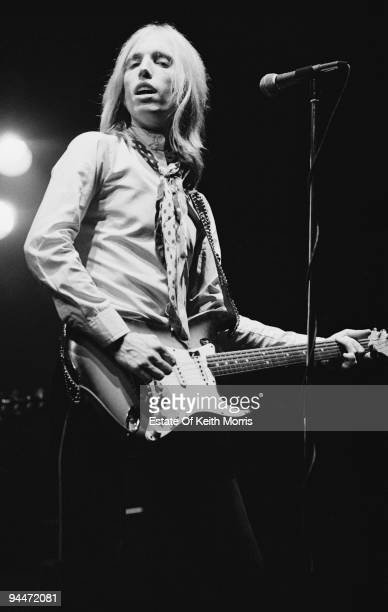 American singersongwriter and musician Tom Petty performs live in London with the Heartbreakers 1977