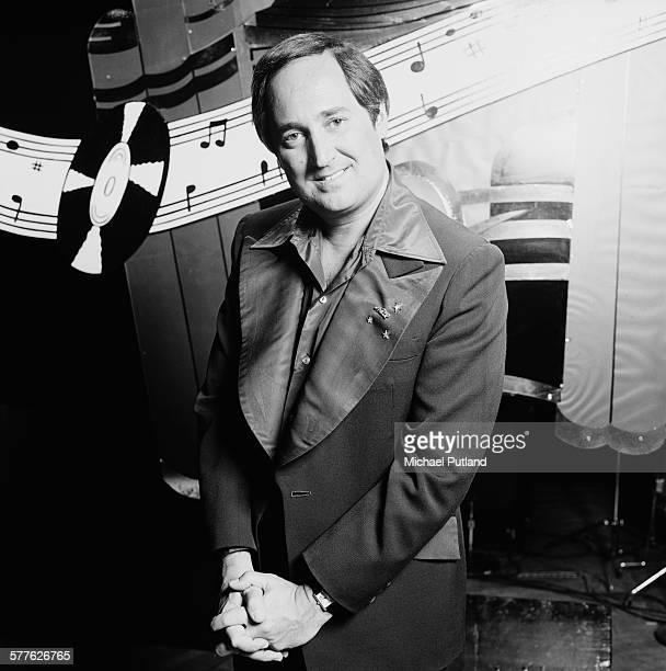 American singersongwriter and pianist Neil Sedaka Las Vegas USA 8th April 1977
