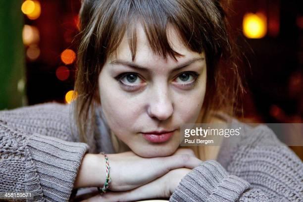 American singersongwriter Angel Olsen poses on December 11 2013 in Amsterdam Netherlands
