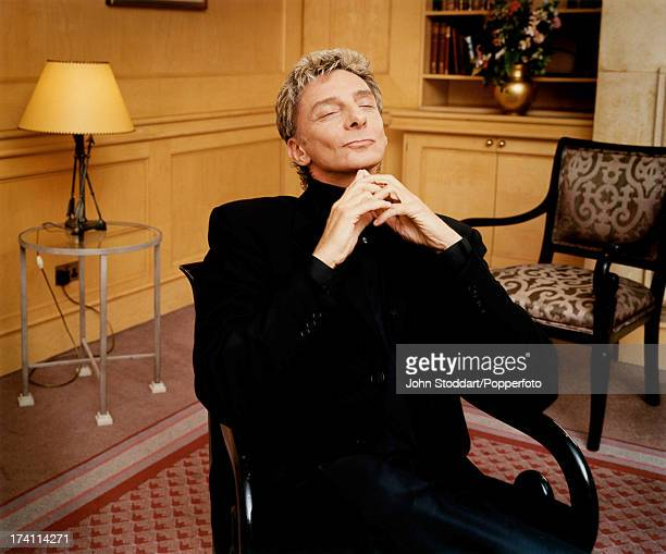 American singersongwriter Barry Manilow in England 1999