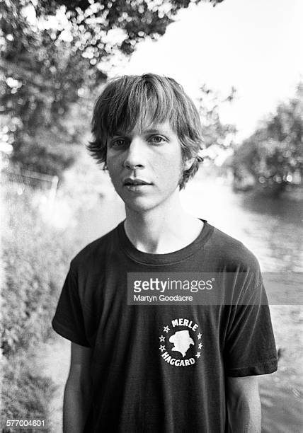 American singersongwriter Beck Amsterdam Netherlands July 1996 He is wearing a Merle Haggard Tshirt