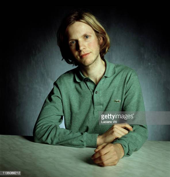American singer-songwriter Beck , Italy, 1990s.