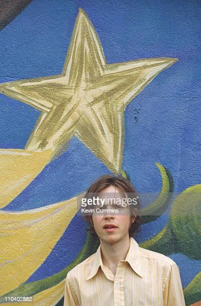 American singer-songwriter Beck, Los Angeles, May 1996.