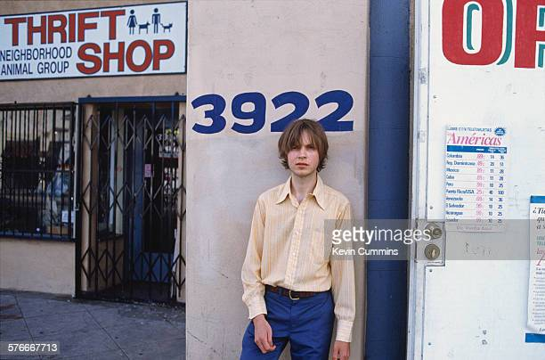 American singersongwriter Beck Los Angeles May 1996