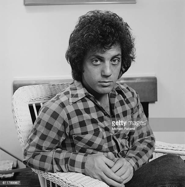 American singer-songwriter Billy Joel, at his home in New York City, 25th January 1978. (Photo by Michael Putland/Getty Images