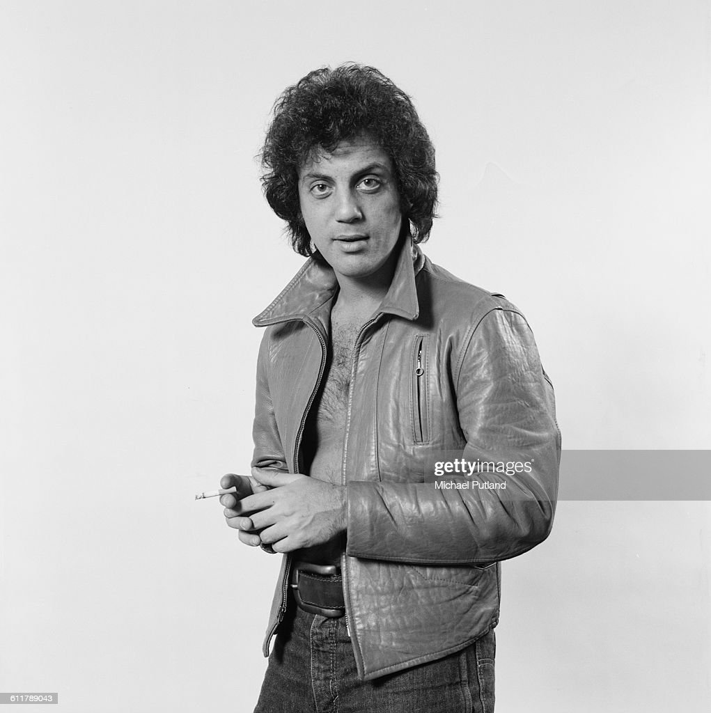 American singer-songwriter Billy Joel, New York City, 25th January 1978. (Photo by Michael Putland/Getty Images