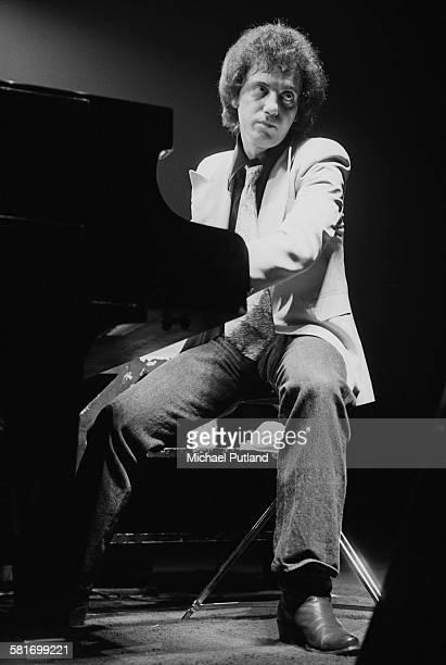American singer-songwriter Billy Joel, performing in New York City, 7th December 1977.