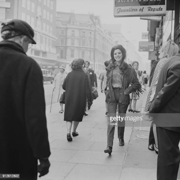 American singersongwriter Bobbie Gentry in London 27th May 1968