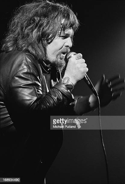 American singersongwriter Captain Beefheart performing with The Magic Band at the Rainbow Theatre in London 17th April 1973