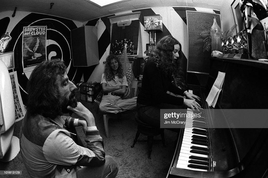 Carole King : News Photo
