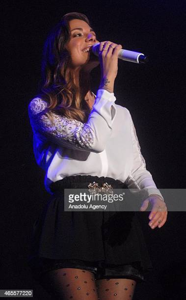 American singersongwriter Christina Perri performs during the 11th International Java Jazz Festival in Jakarta Indonesia on March 8 2015