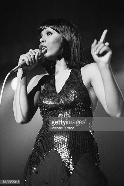 American singersongwriter Donna Summer performing at a party for Neil Bogart's Casablanca Records New York November 1978