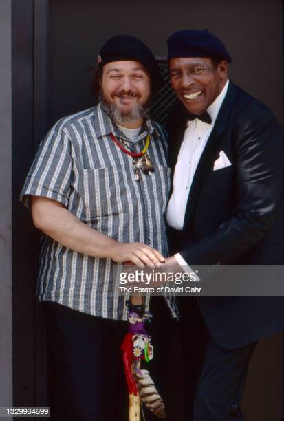 American singer-songwriter Dr. John and American blues singer and pianist Charles Brown pose for a portrait in May, 1990 in New York City, New York.