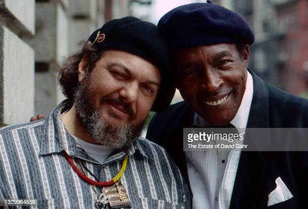 """American singer-songwriter Dr. John and American blues singer and pianist Charles Brown (Tony Russell """"Charles"""" Brown - pose for a portrait in May,..."""