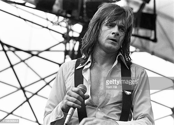 Eddie Money during Georgia Tech Hosts The Champagne Jam at Grant Field September 3 1978 at Georgia Tech's Grant Field in Atlanta Georgia United States